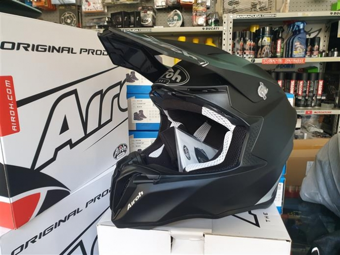 Casco cross airoh twist BLK matt