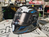 casco integrale airoh gp 550 s venom black gloss