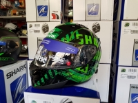 casco shark ridill visiera interna