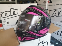 casco integrale fibra airoh dude pink gloss