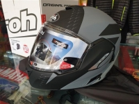 casco integrale modulare airoh rev19 leaden anthracite matt