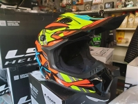 casco cross fibra ls2 mx700 subverter rascal orange