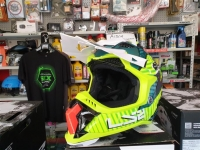 casco cross ls2 mx700 subverter astro cobalt yellow