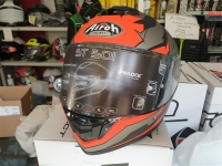 casco integrale fibra airoh bionic orange matt