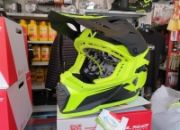 casco cross ls2 mx437 fast evo roar matt hi-v yellow