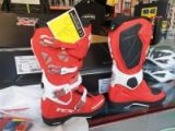 Stivali boots moto tcx comp evo 2 michelin  red white