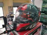 casco integrale ls2 trix carbonio carbon red xs
